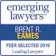 Emerging lawyers logo