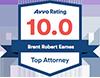 Avvo Rating 10.0 logo